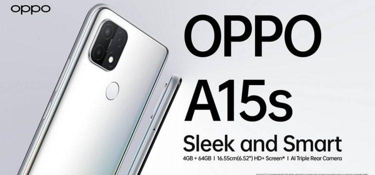 HP Oppo A15s