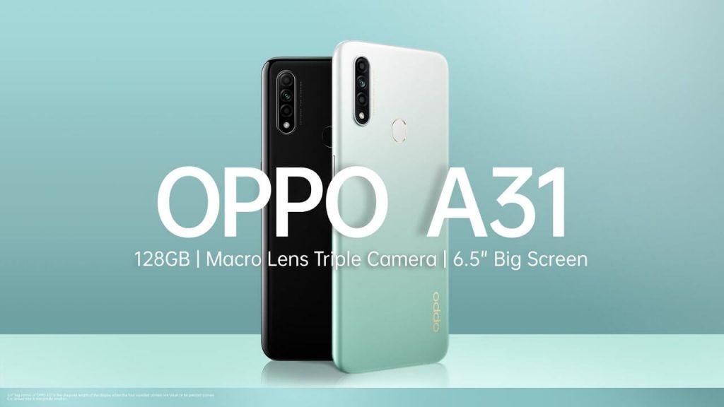 Harga HP OPPO A31 Terbaru Mei 2021